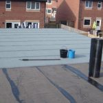 Felt Roofing Instalation